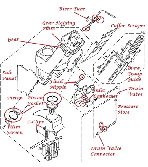 Jura Diagrams Search Exploded View Diagrams For Parts