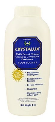 Crystalux Deodorant Body Powder