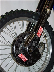YZ 250F CF FRONT DISC GUARD (1998-2004)