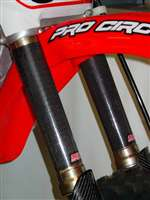 CRF 150R UPPER CF FORK WRAPS