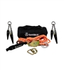 SafeWaze 019-8008  2 Person 30' Rope Horizontal Lifeline Kit with Heavy Duty Cross Arm Straps