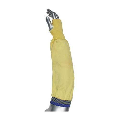 "PIP 10-K4826 Kut-Gard Interlock 100% Aramid Sleeve with Thumb Hole, Knit Kevlar Wrist, ANSI Cut Level 2, 26"" Length - Box/12"