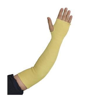 "PIP 10-KS24TO Kut-Gard Kevlar Sleeves, Two Ply, 24"" Length, Thumb Hole - Box/6 Pairs"