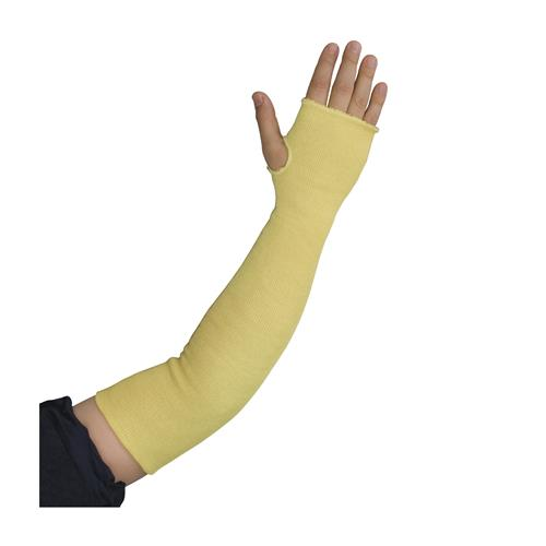 "PIP 10-KS24TO Kut-Gard Kevlar Sleeves, Two Ply, 24"" Length, Thumb Hole - Box/ 12 Sleeves"