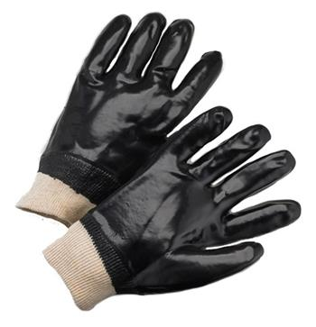 "Find Great Deals on West Chester 1007 Black PVC Coated, 12"" Length, Smooth Finish, Interlock Lined, Knit Wrist Gloves on all other PVC coated gloves at The Man Store!"