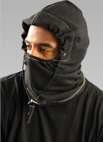 OccuNomix 1070FR Premium Flame Resistant 3-in-1 Fleece Balaclava, Hard Hat Attachment, Meets ASTM F1506 Arc Rating: ATPV = 9.7 cal/cm2, NFPA 70E / HRC = 2