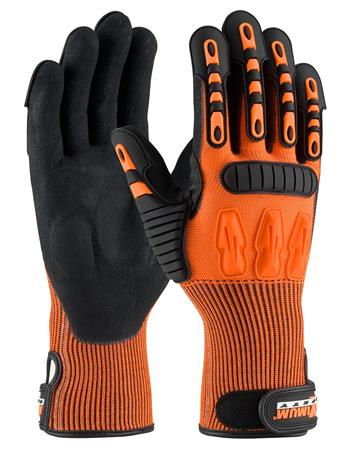 PIP 120-5150 Maximum Safety TuffMax5 Gloves, TPR Protection, ANSI Cut Level A3, EN 388 Cut, Puncture & Tear Resistant, Pair