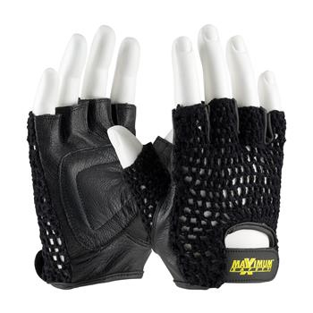 PIP 122-AV14 Maximum Safety Lifting Gloves with Reinforced Padded Leather Palm - 1 Pair