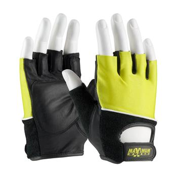 PIP 122-AV70 Maximum Safety Lifting Gloves with Reinforced Padded Leather Palm - 1 Pair