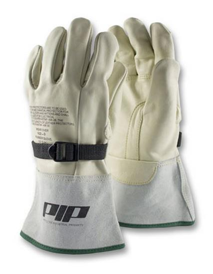 Pip Leather Protectors/Cover Gloves Top Grain Cowhide Leather Protector For Novax Gloves, Reinforced