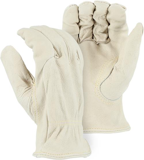 Majestic 1510PK Heavier Weight Grain Pigskin, Kevlar Sewn Drivers Gloves