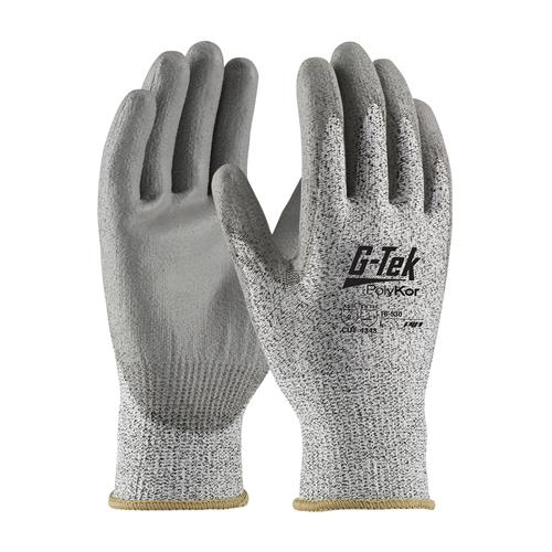 PIP 16-530 G-Tek PolyKor Seamless Knit PolyKor Blended Glove with Polyurethane Coated - Box/12 Pairs