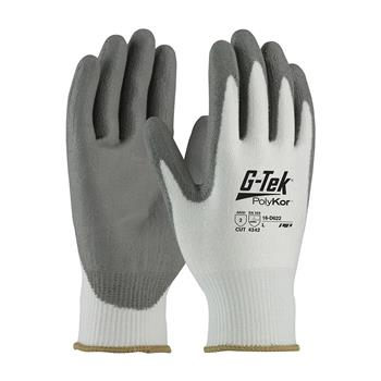 PIP 16-D622 G-Tek PolyKor Seamless Knit PolyKor Blended Glove with Polyurethane Coated, ANSI Cut Level 2 - Box/12 Pairs