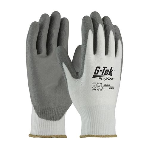PIP 16-D622 G-Tek PolyKor Seamless Knit PolyKor Blended Glove with Polyurethane Coated - Box/12 Pairs