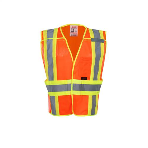 GSS Safety 1804 Standard Class 2 Expandable Breakaway Vest -Orange