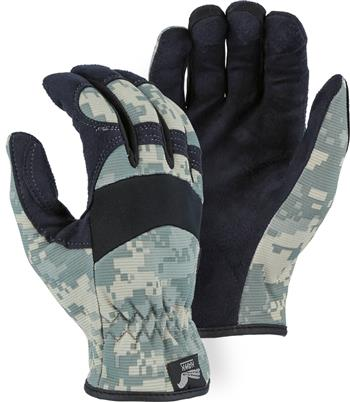 Majestic 2136C1 Armor Skin Glove, Unlined, Camoulflage,