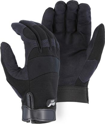 Majestic 2137BK Armor Skin Glove, Unlined,