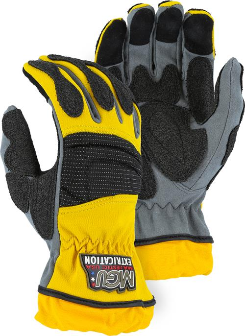 Majestic 2163 Mechanics Style Extrication Gloves,