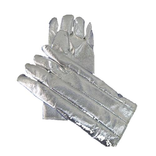 "CPA Chicago Protective Apparel 238-AKV 18"" Glove, Fully Aluminized Kevlar Blend"