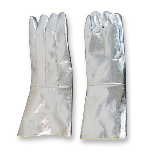 "CPA Chicago Protective Apparel 243-AKV 23"" Glove, Fully Aluminized Kevlar Blend"