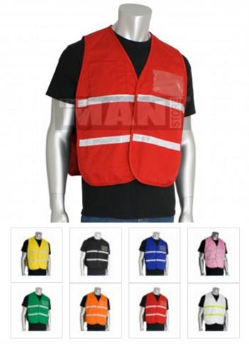 PIP 300-  Incident Command Non-ANSI Solid Polyester Vest