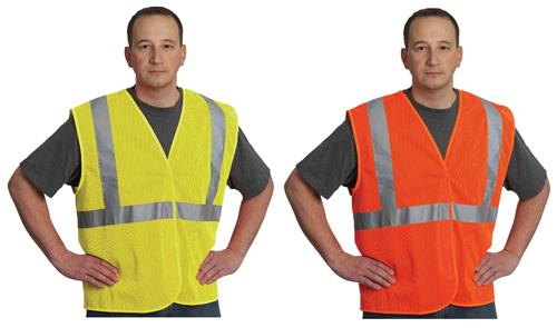 PIP 302-MVG Safety Vest, Hi Vis Lime or Orange