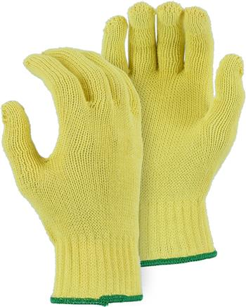 Majestic 3118 Cut & Heat Resistant Kevlar Knit Glove, Medium Weight 10 Gauge