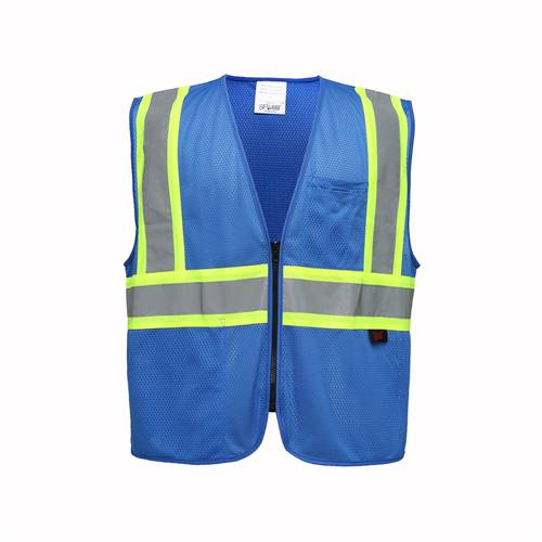 GSS Safety 3133 Enchanced Visibility Multi-Color Vest - Blue