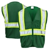GSS Safety 3136 Enchanced Visibility Multi-Color Vest - Cert Green