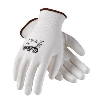 PIP 33-125 G-Tek NP Seamless Knit Nylon Glove with Polyurethane Coated Smooth Grip on Palm & Fingers - Box/12 Pairs