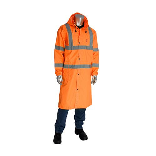 Apparel & Accessories > Clothing > Outerwear > Rain Suits > High Visibility Rain Jacket