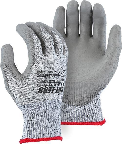 Majestic 37-1505 Cut-Less Diamond Cut Resistant Gloves Made with Dyneema - Box/12 Pairs