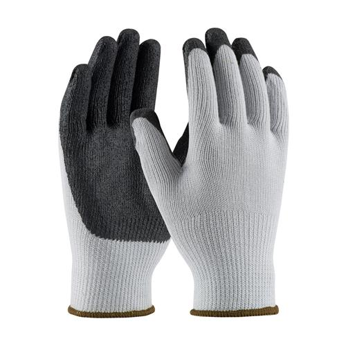 PIP 38-1410 G-Tek Seamless Knit Cotton / Polyester Glove with Nitrile Coated MicroFinish Grip on Palm & Fingers - Box/12 Pairs