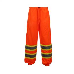 GSS Safety 3804 Class E Standard Two Tone Mesh Pants - Orange