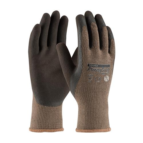 PIP 39-C1500 PowerGrab Premium Seamless Knit Cotton / Polyester Glove with Latex Coated MicroFinish Grip on Palm & Fingers -  Box/12 Pairs