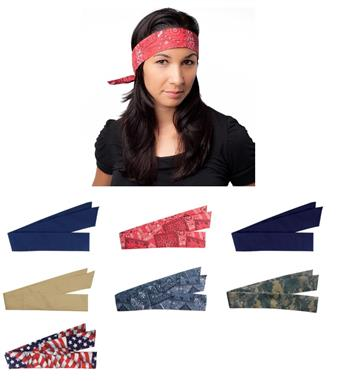 PIP 393-100 EZ-Cool Evaporative Cooling Bandana, Choice of Colors, Box/ 12