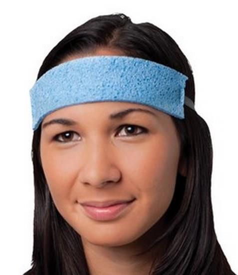 PIP Cellulose Sponge Sweatband, Absorbent, Teal, #396-500, Box/25