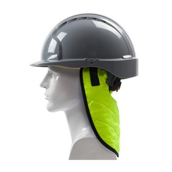 PIP 396-EZ810 EZ Plus Evaporative Hi-Vis Cooling Neck Shade, 1-2 minutes Fast Activation, Hi Vis Yellow