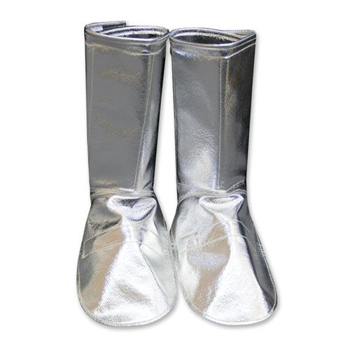 "CPA Chicago Protective Apparel 401 Series Aluminized 14 1/2"" High Overboot Protection"