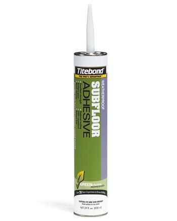 Titebond GREENchoice 4122 Weatherproof Subfloor Adhesive, Case/12