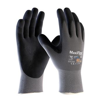 PIP 42-874 MaxiFlex Ultimate Seamless Knit Nylon / Lycra Glove with AD-APT Cooling Technology, Nitrile Coated MicroFoam Grip on Palm & Fingers- Box/12 Pairs