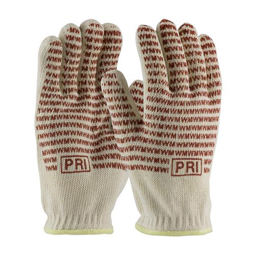 PIP 43-502 Double-Layered Cotton Seamless Knit Hot Mill Glove with Double-Sided EverGrip Nitrile Coating - 24 oz - Box/12 Pairs