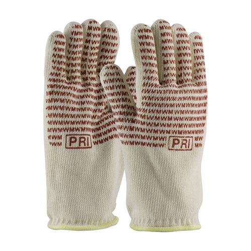 PIP 43-802 Double-Layered Cotton Seamless Knit Hot Mill Glove with Double-Sided EverGrip Nitrile Coating - 32 oz - Box/12 Pairs