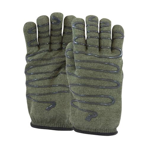 PIP 43-851L Kut-Gard Kevlar / Preox Seamless Knit Hot Mill Glove, Cotton Liner, Double-Sided SilaGrip Coating- 32 oz, ANSI A4 Cut Level, Large - Box/12 Gloves