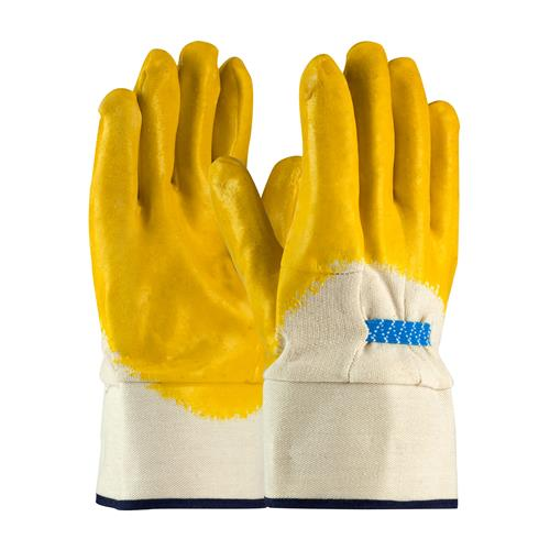 PIP 55-3274 Armor Latex Coated Glove with Jersey Liner and Smooth Finish on Palm, Fingers & Knuckles - Rubberized Safety Cuff - Case/72 Pairs