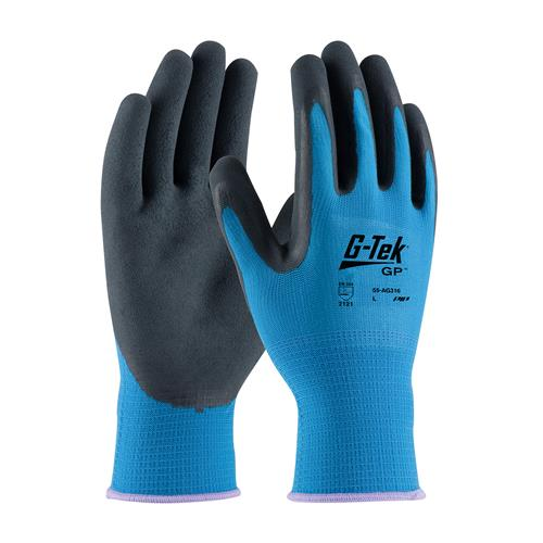PIP 55-AG316 G-Tek Glove, GP Polyester Shell, Latex Coated MicroSurface Grip - Box/12 Pairs