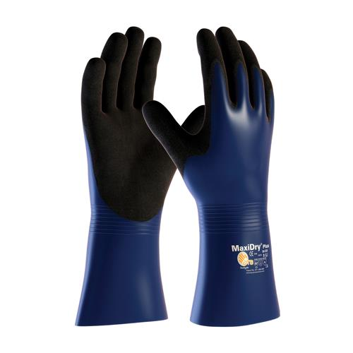 PIP 56-530 MaxiDry Plus Nitrile Coated Glove with Nylon / Lycra Liner and Non-Slip Grip on Palm & Fingers - Box/12 Pairs