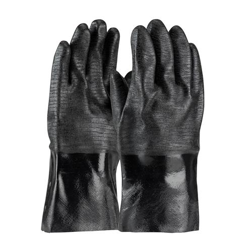 "PIP 57-8630R ChemGrip Neoprene Coated Glove with Interlock Liner and Etched Rough Finish - 12"" - Box/12 Pairs"