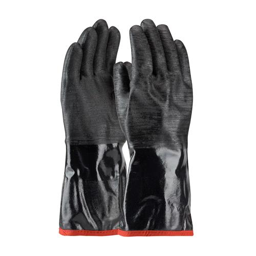 "PIP 57-8643R ChemGrip Neoprene Coated Glove with Foam Insulated Liner and Etched Rough Finish - 14"" - Box/12 Pairs"