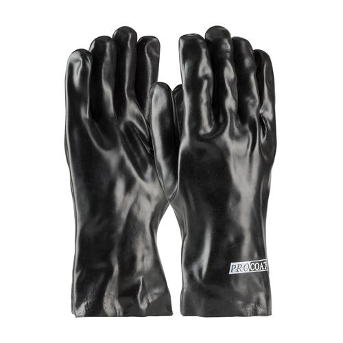"PIP 58-8030 ProCoat PVC Dipped Glove with Interlock Liner and Smooth Finish - 12"" - Box/12 Pairs"